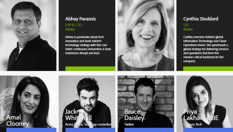 Adobe Summit Speakers