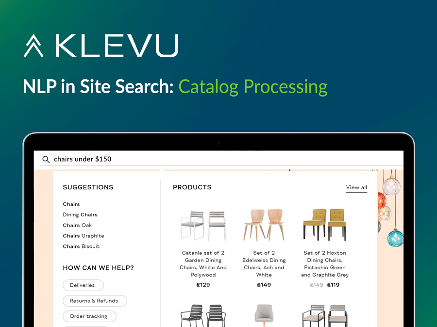 Klevu - NLP in Site Search: Catalog Processing