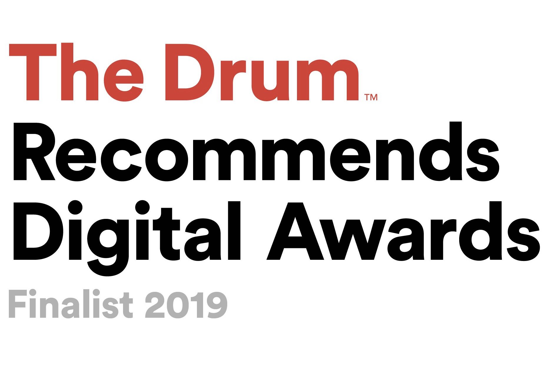 The Pixel Finalist in The Drum Recommends Digital Awards 2019