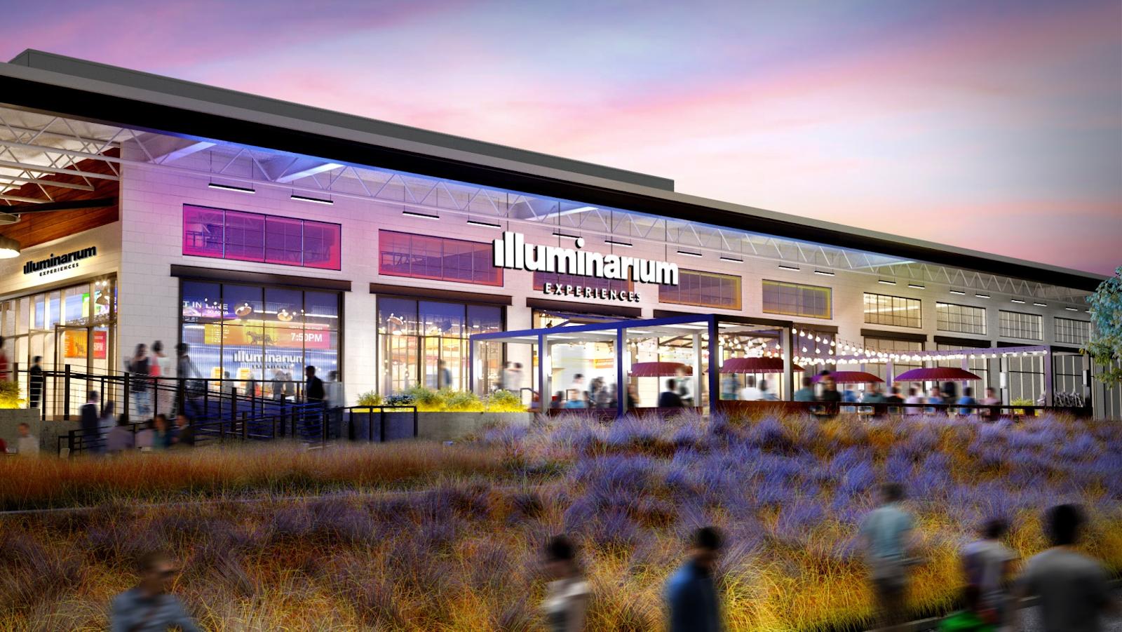 Illuminarium Experiences building