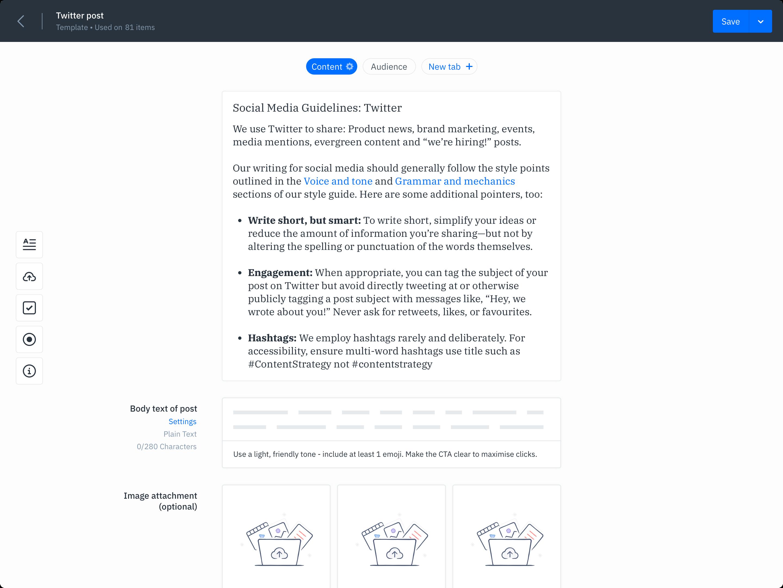 GatherContent Integrations UI
