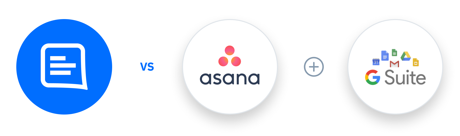 GatherContent vs Asana + G Suite