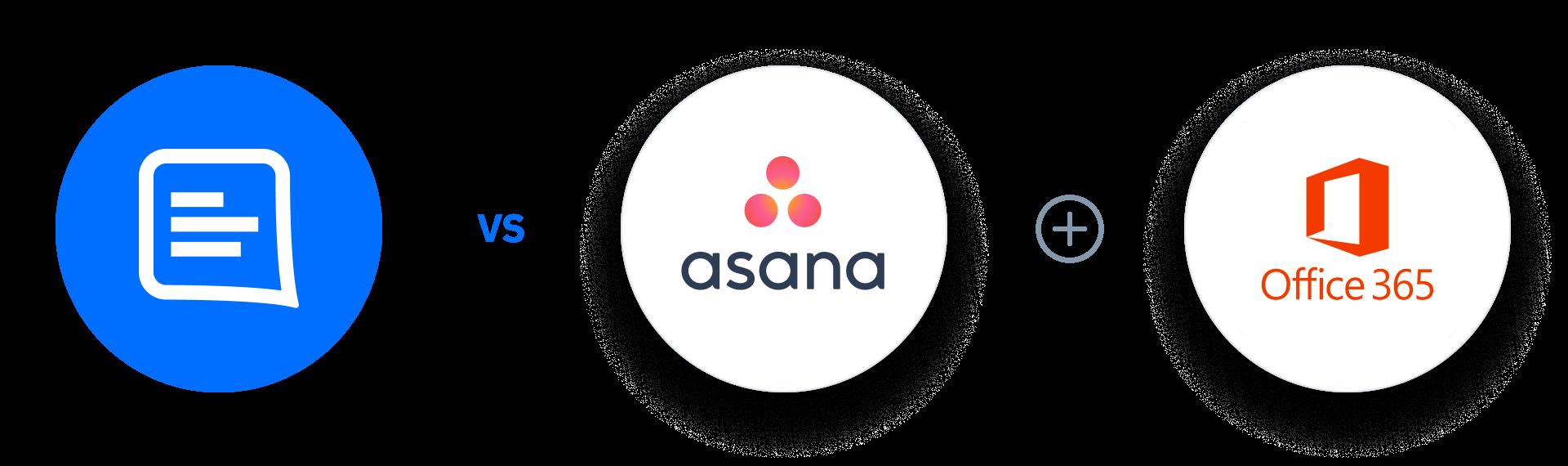 GC Vs Asana + Office 365