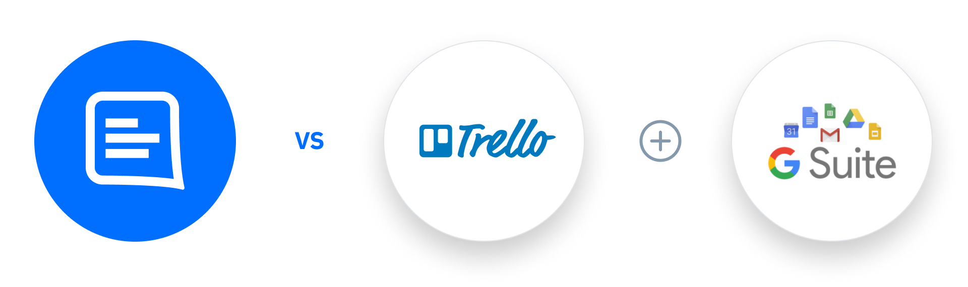 GatherContent vs Trello + G Suite
