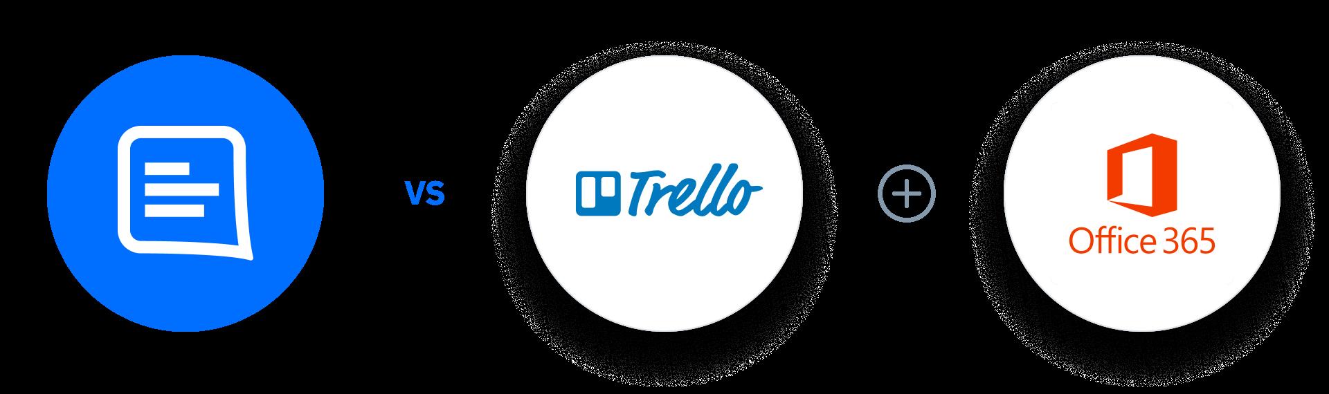 GC Vs Trello + Office 365