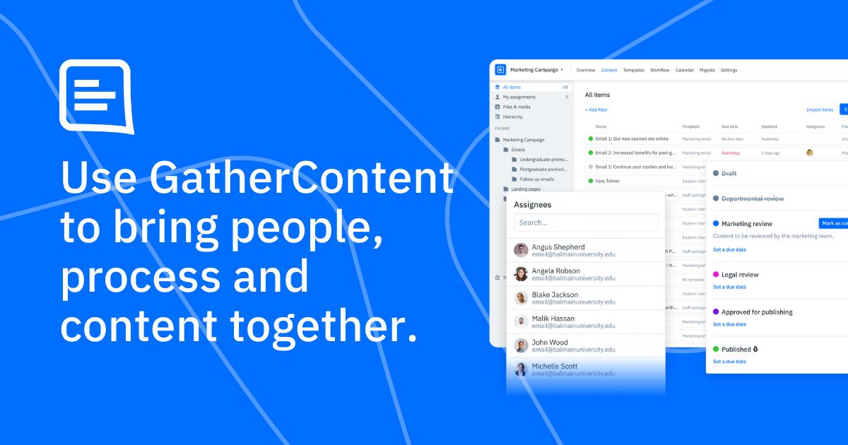 GatherContent - Content Operations Platform