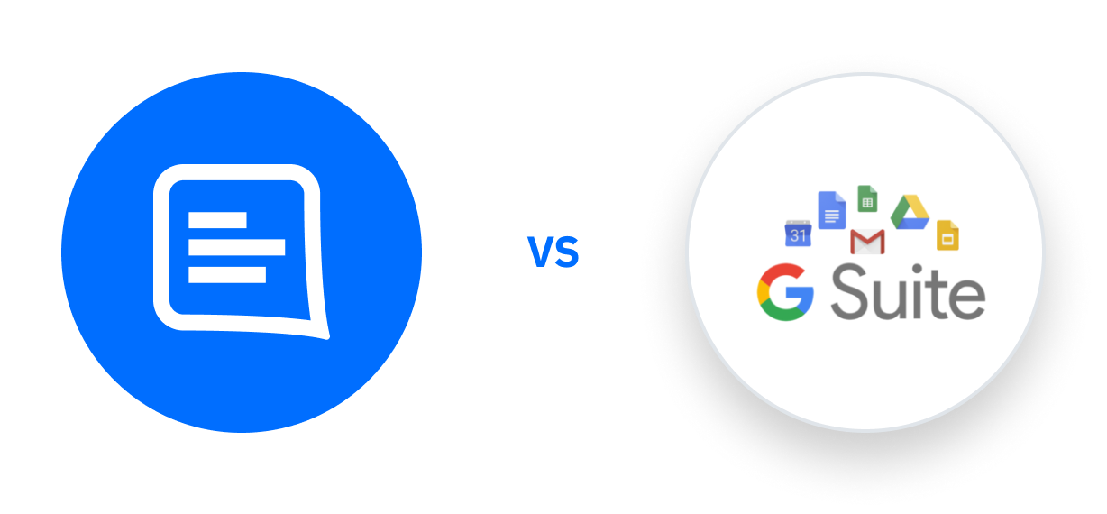 GC logo Vs G Suite logo