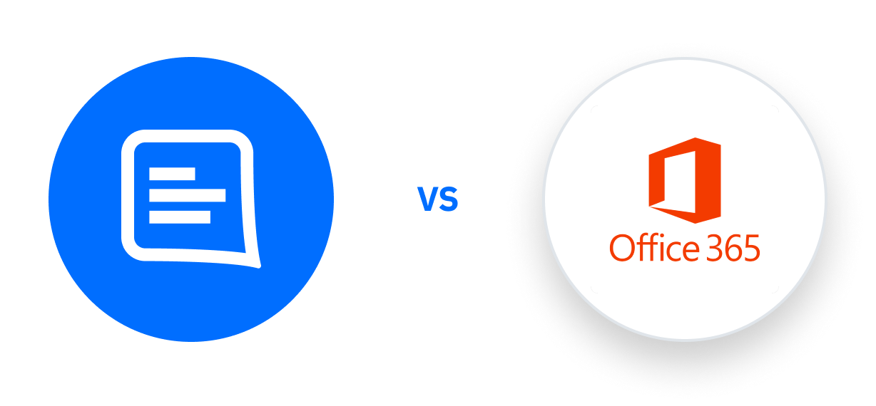 GC vs Office 365 logo