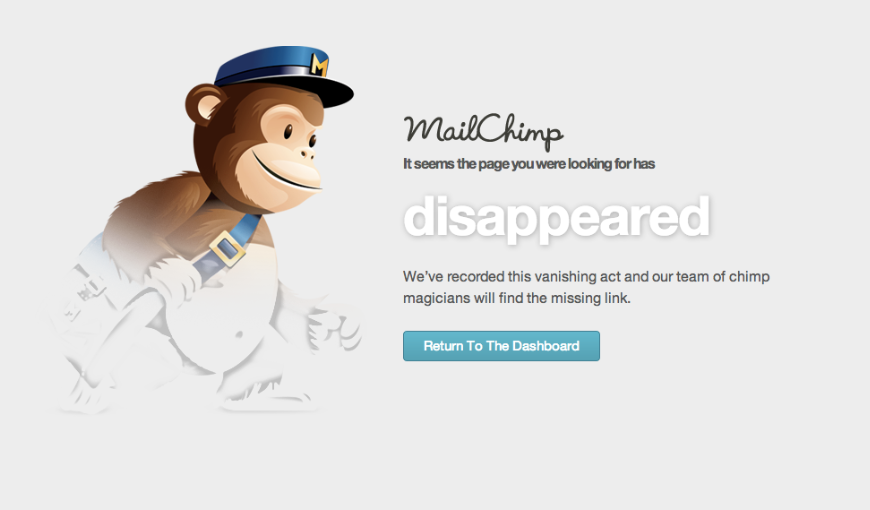 An example of Mailchimp content which is in-line with the voice and tone guidelines.