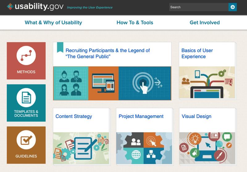 Usability.gov home page