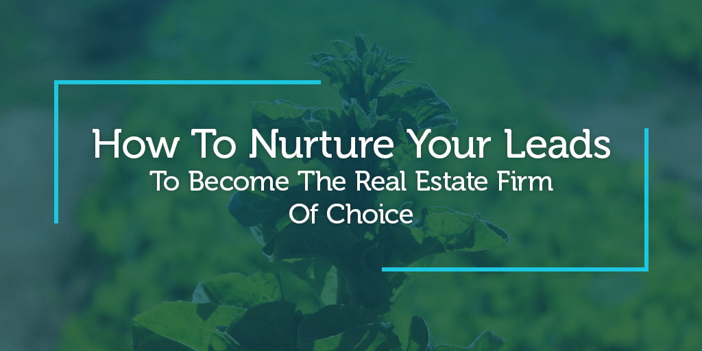 How To Nurture Your Leads To Become The Real Estate Firm Of Choice