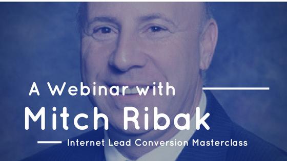 Lead Conversion Masterclass with Mitch Ribak