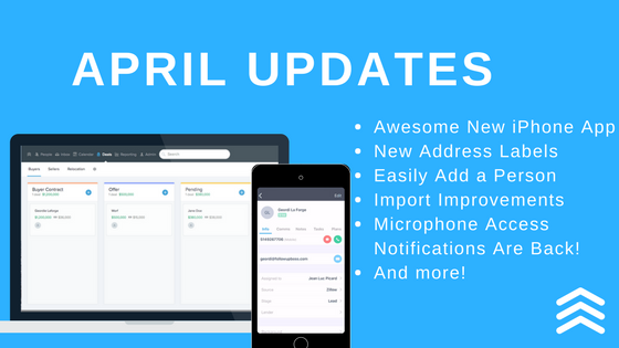 April 2018 Feature Roundup