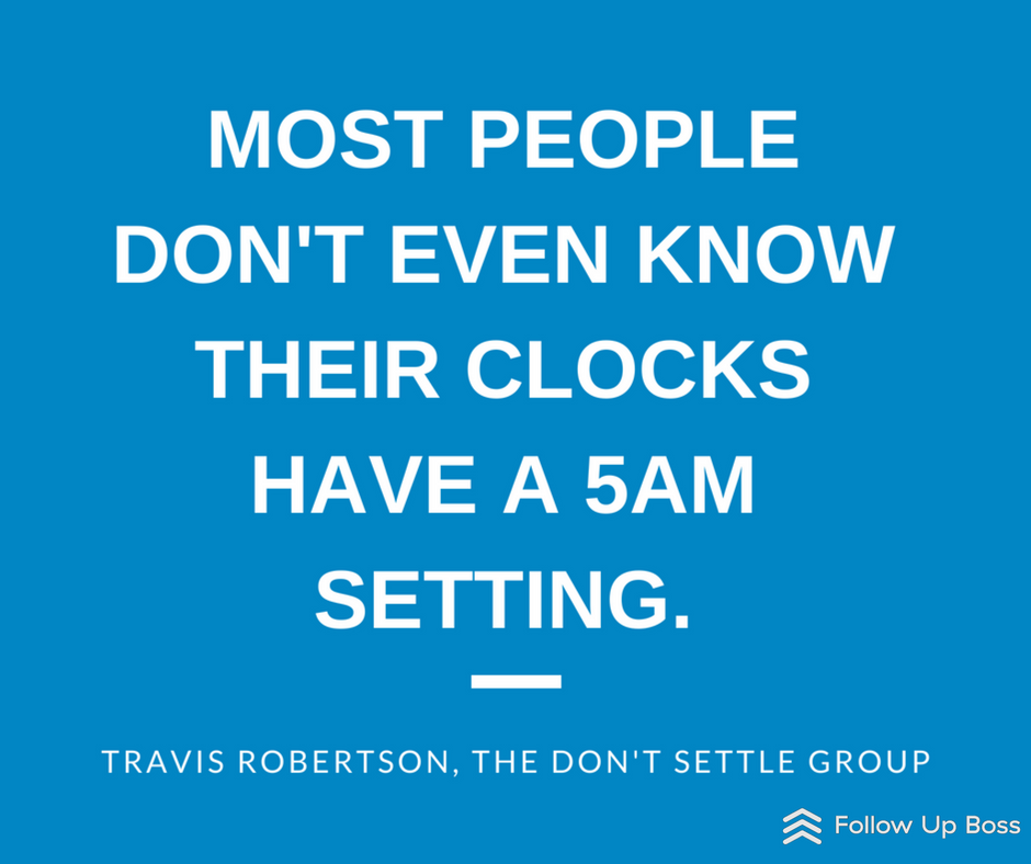 Early day start time management skill