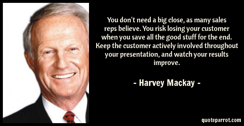 harvey-mackay-quote