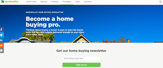 Real Estate Landing Page Example