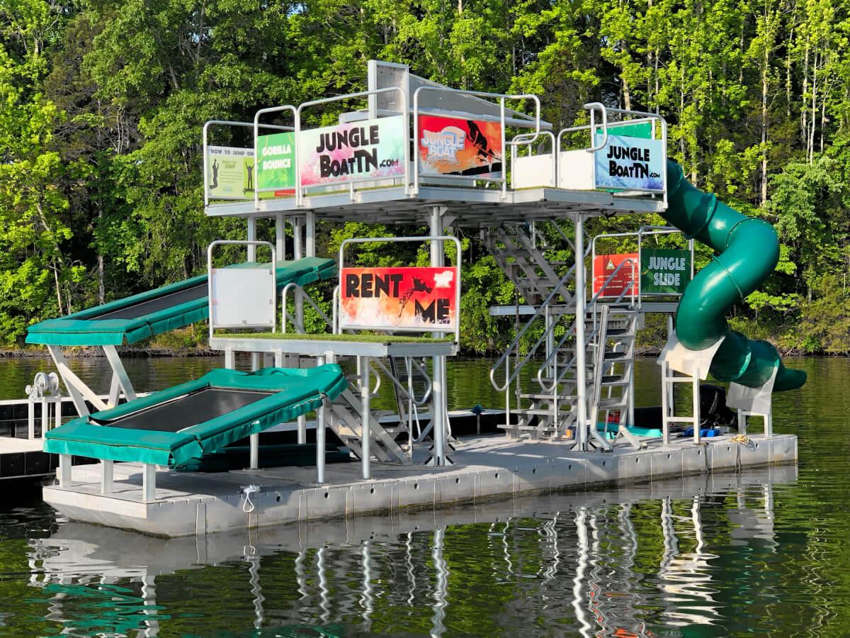The Jungle Boat at Twin Creeks Marina