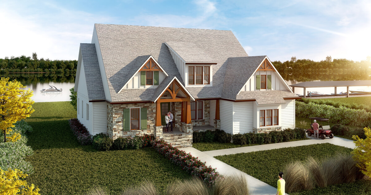 Lake Home at The Landings by Twin Creeks
