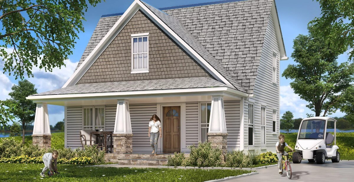 Cottage rendering at Barefoot Bay by Twin Creeks