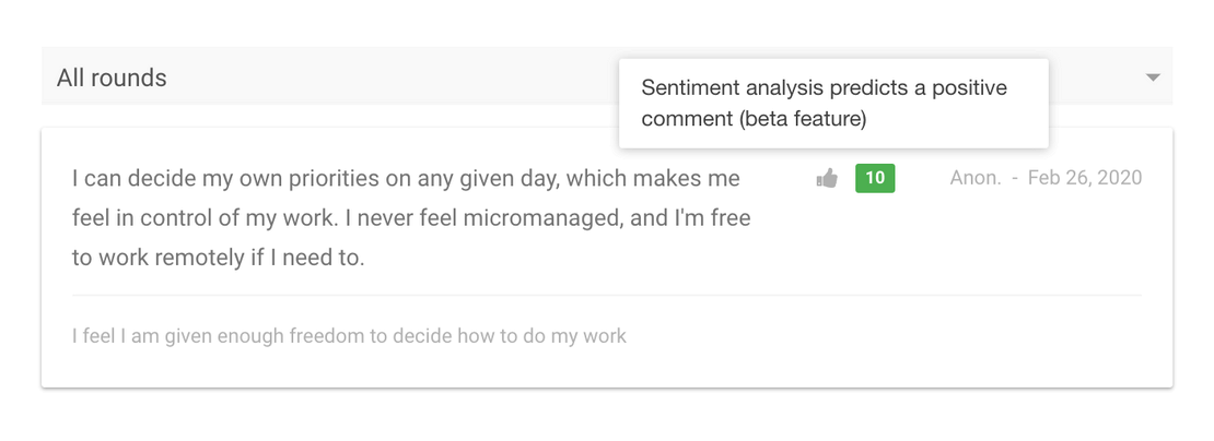 Sentiment analysis to drive engagement and performance