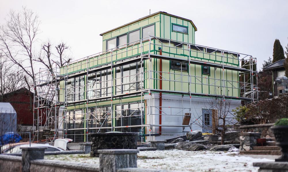 Bygge hus