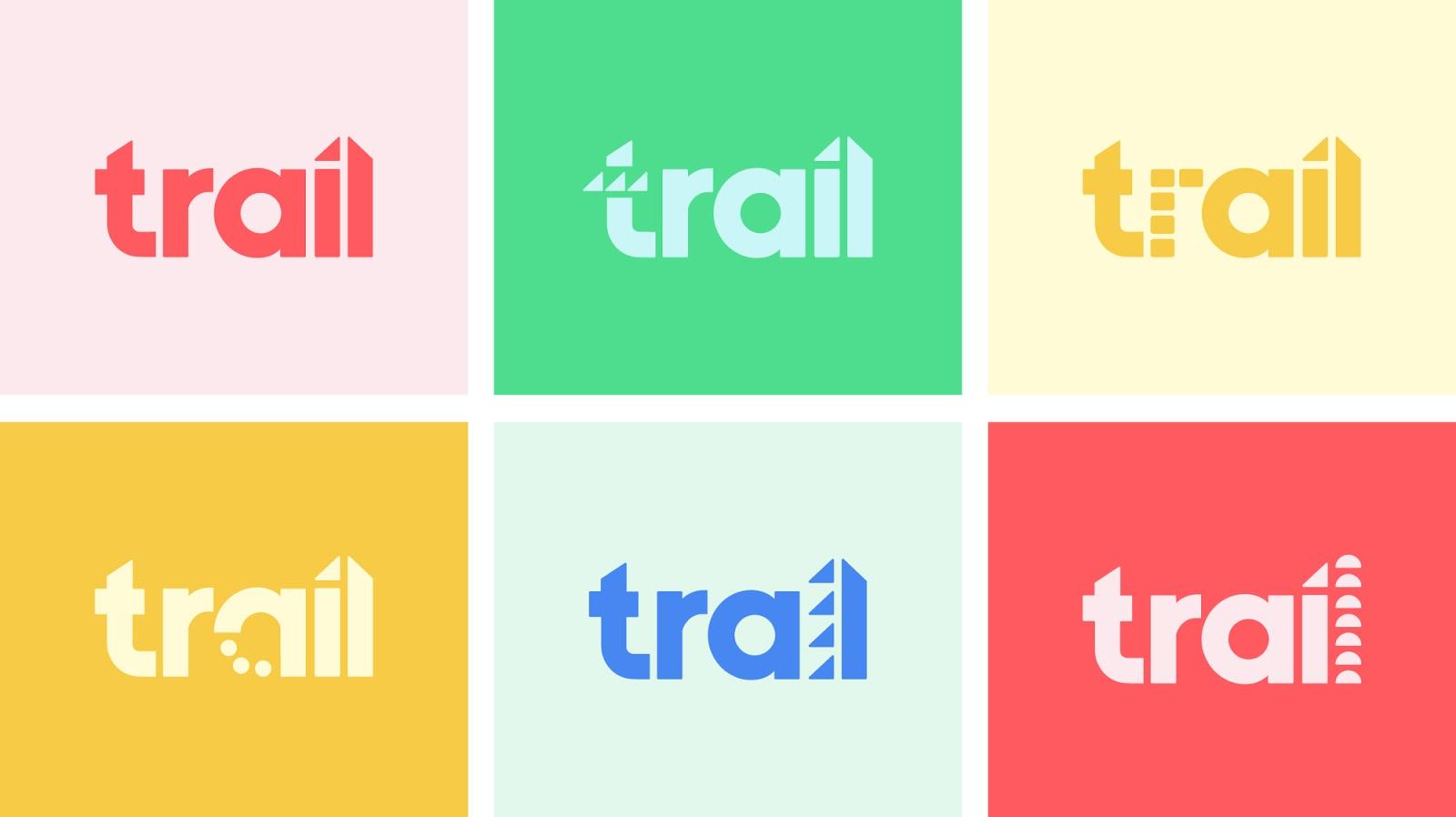 Trail app rebrand