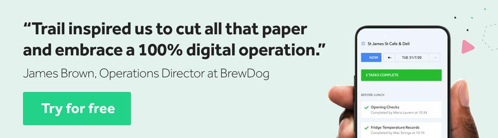 BrewDog customer testimonial