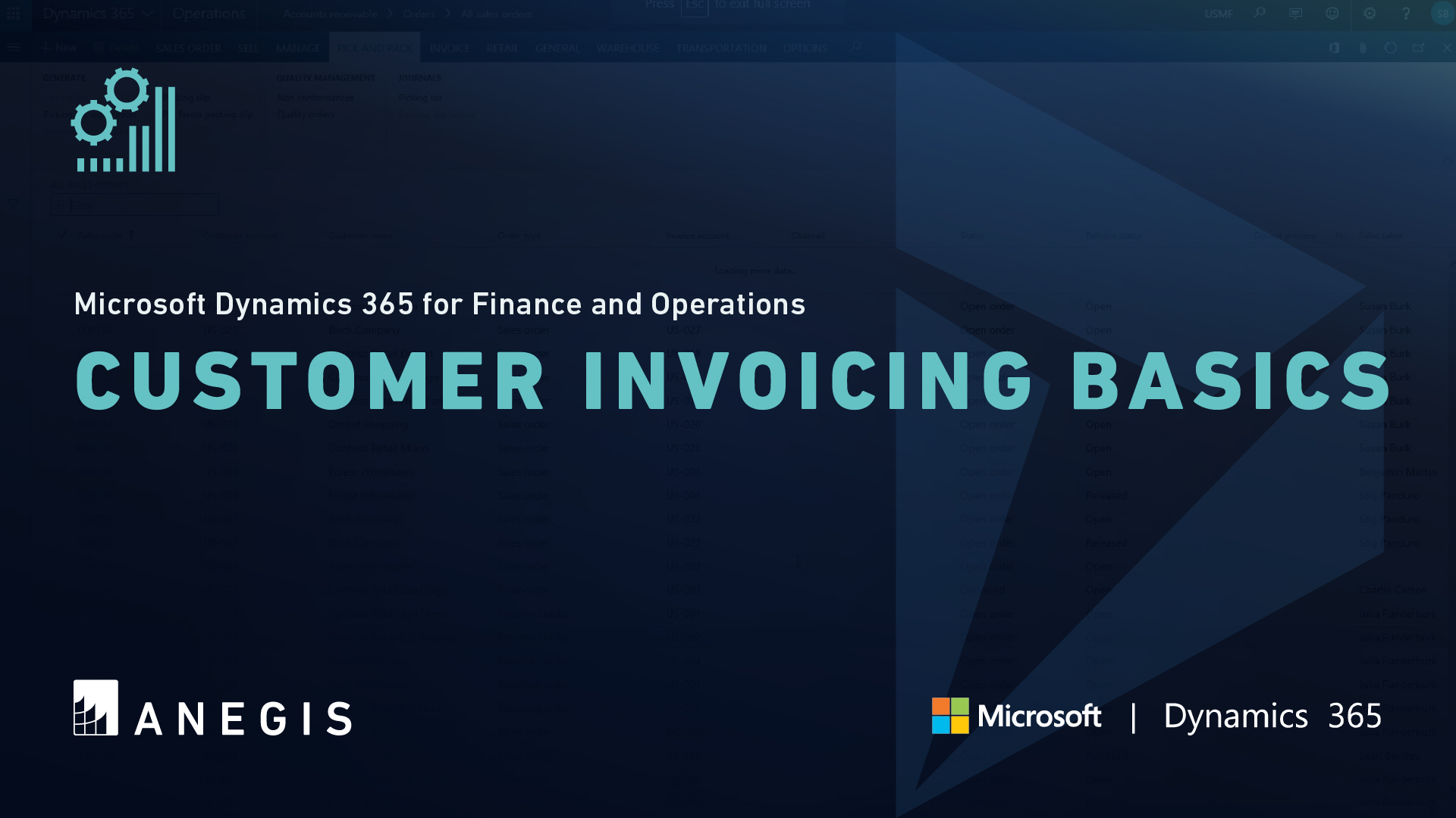 D365 F&O: Customer Invoicing Basics