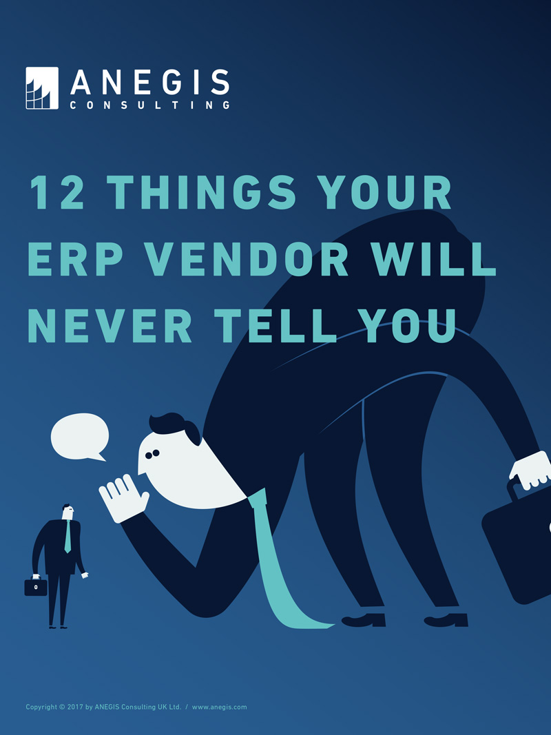 12 things your ERP vendor will never tell you