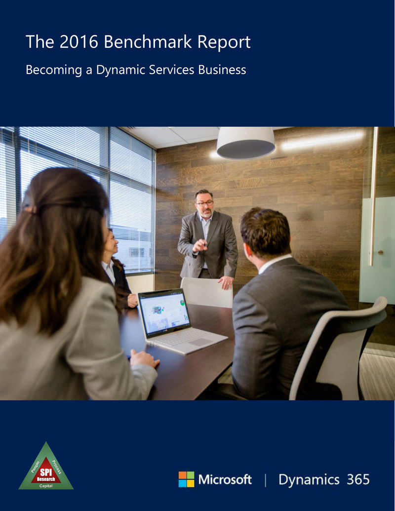 2016 benchmark report becoming a dynamic services business