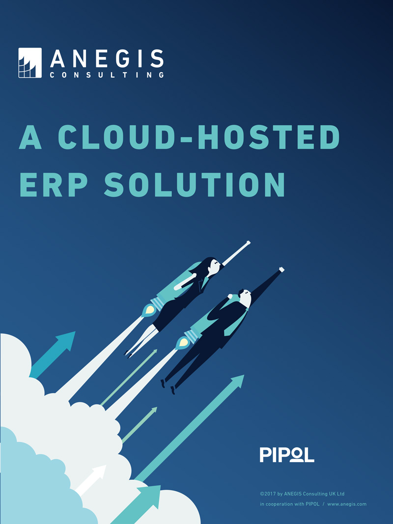 A cloud-hosted ERP
