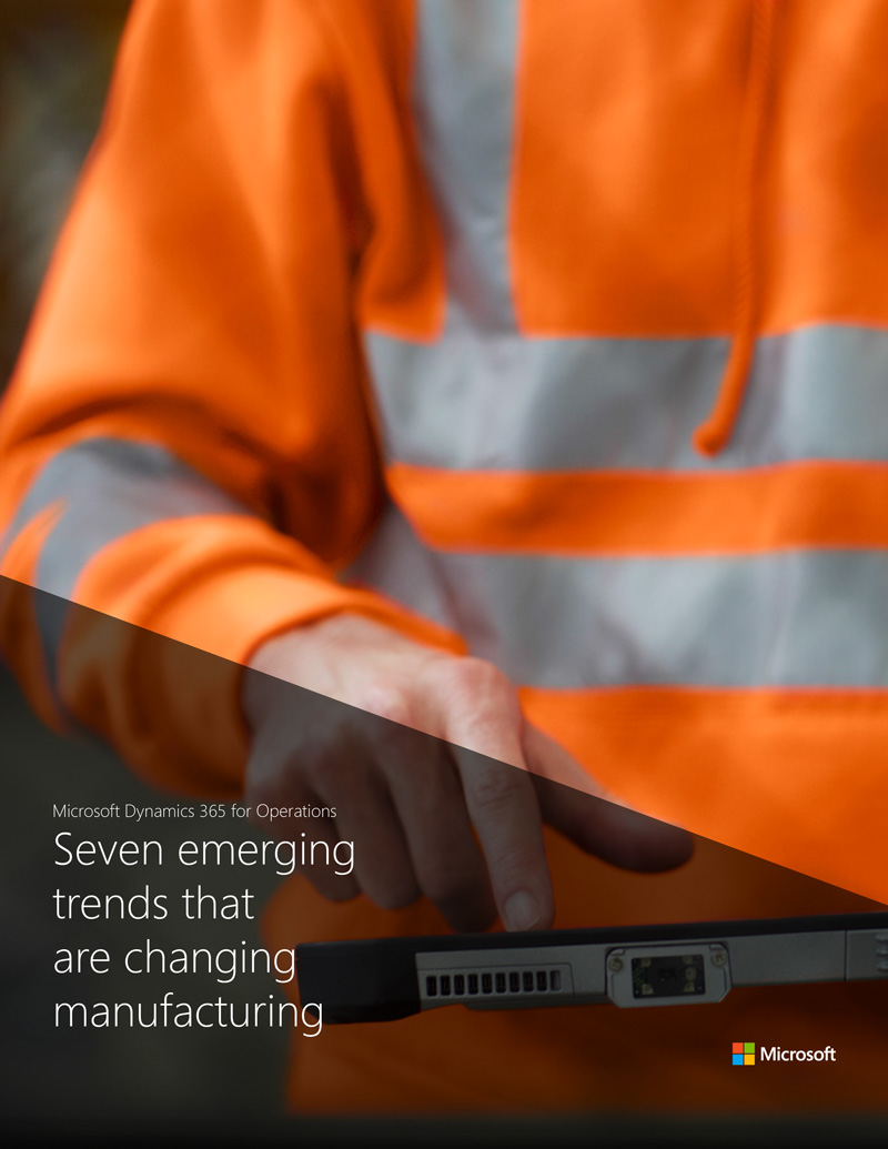 7 emerging trends that are changing manufacturing