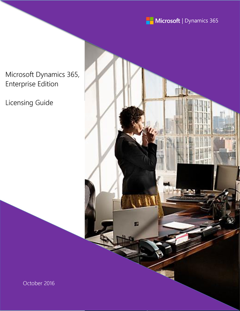 D365 Enterprise Edition licensing guide