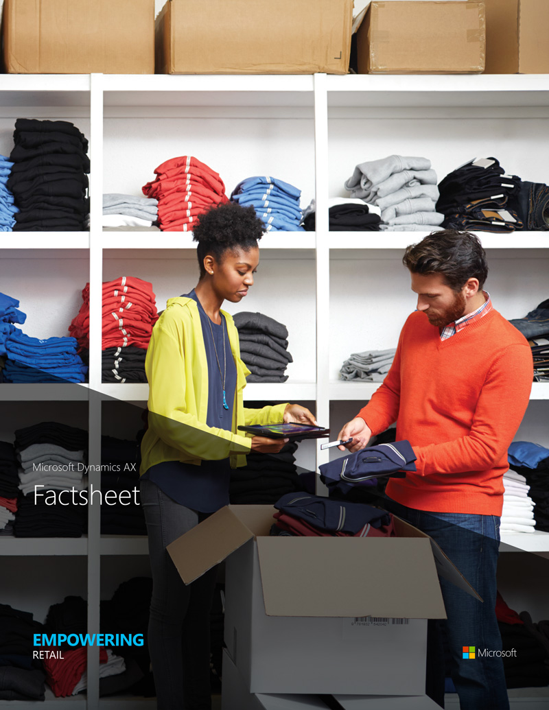 Empowering retail with AX