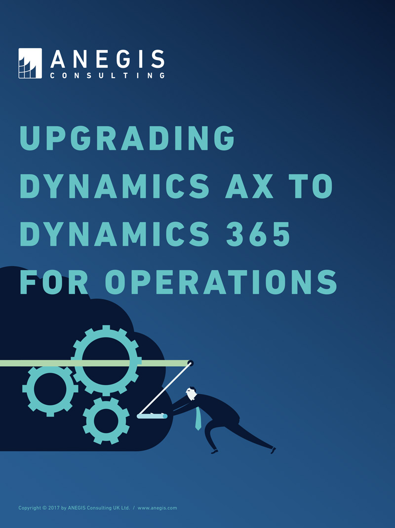 Upgrading AX to D365 F&O