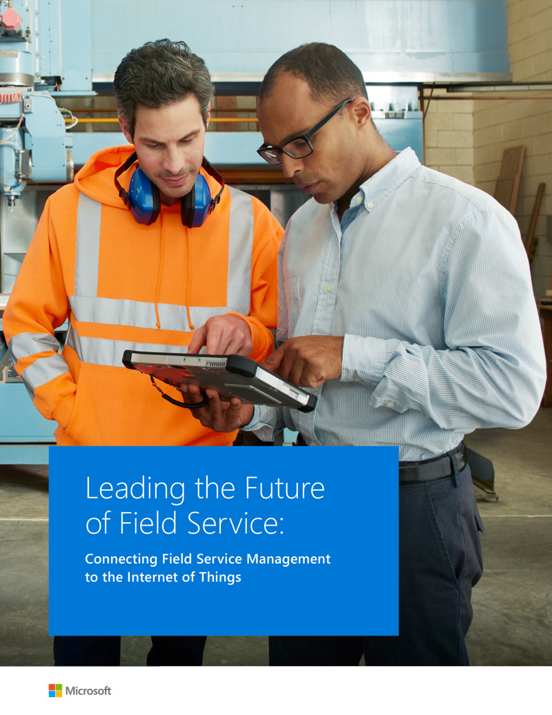 Why the IoT matters for optimising field service