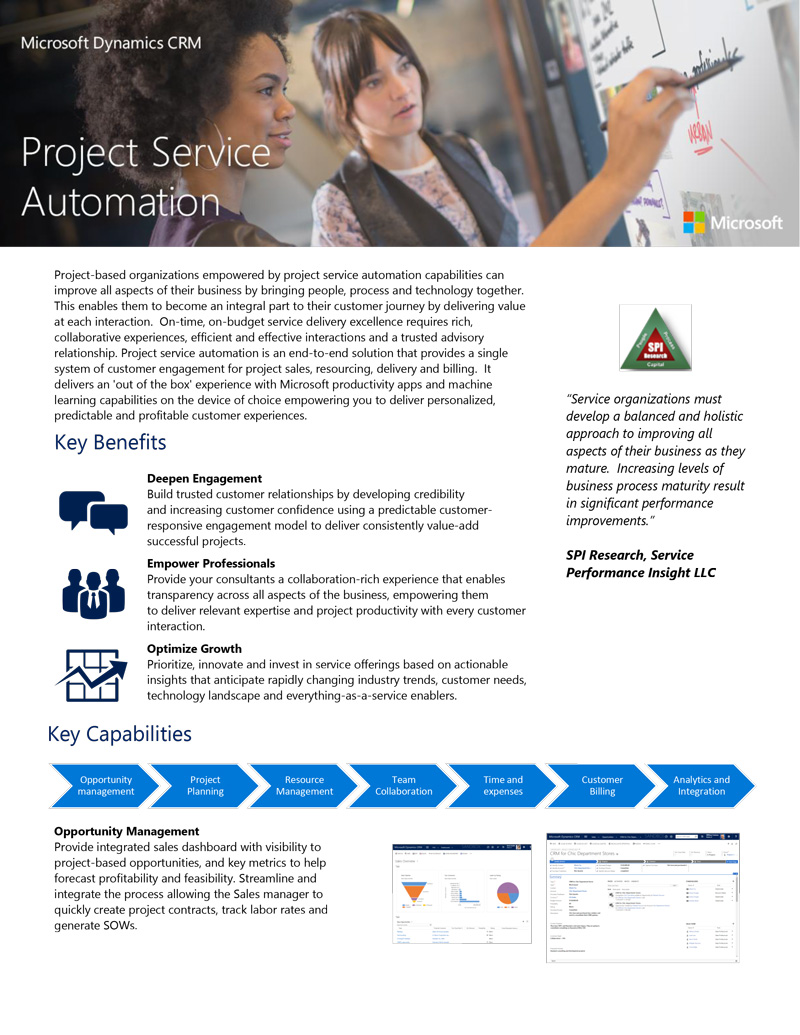 Your quickstart guide to D365 for Project Service Automation