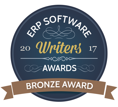 Blog ANEGIS zdobywa brąz w konkursie ERP Software Writers' Awards 2017