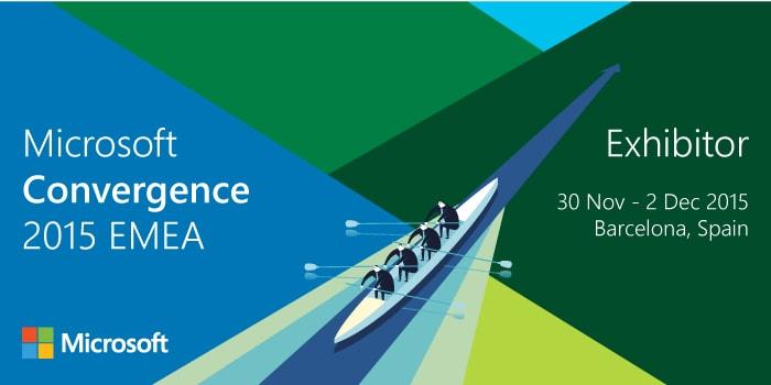Microsoft Convergence 2015 EMEA Banner