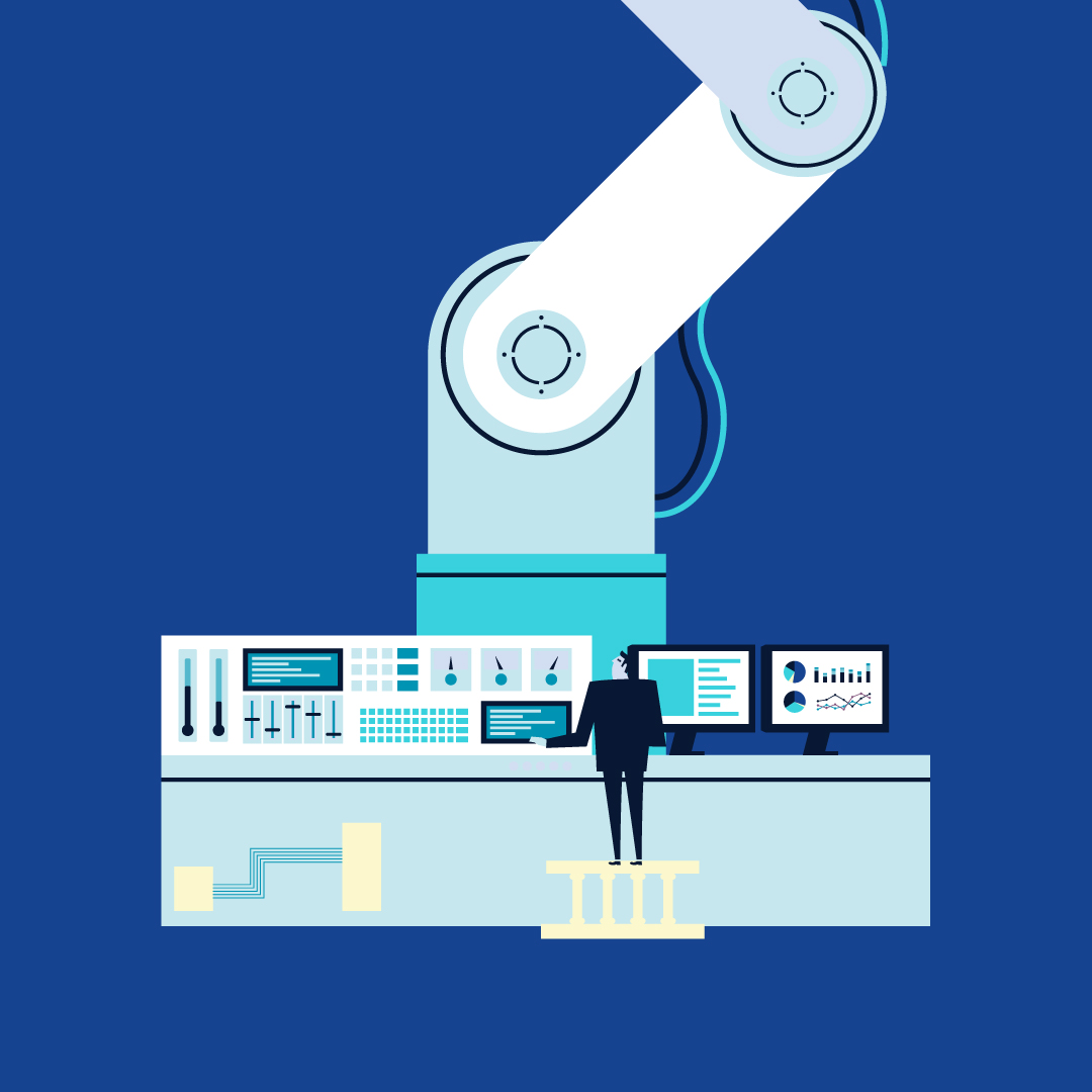 Sztuka cyfrowej transformacji — Cztery filary IV rewolucji przemysłowej