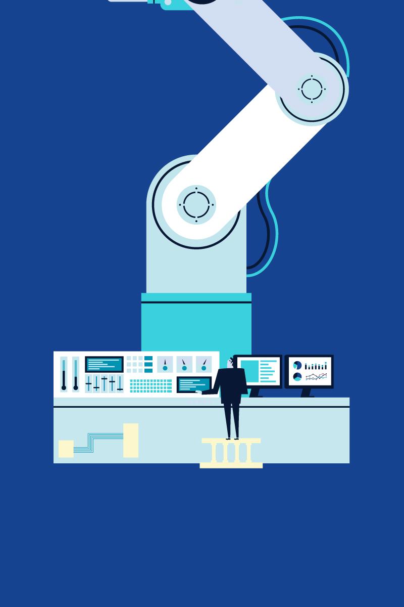 The art of Digital Transformation – Four pillars of Industry 4.0