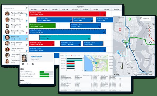 zarządzanie zasobami w Dynamics 365 for Field Service