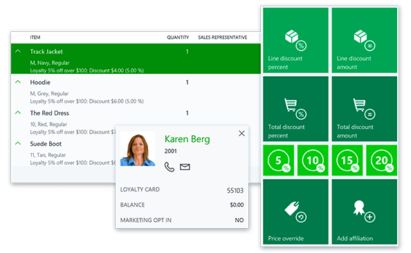 profil klienta w Dynamics 365 for Retail