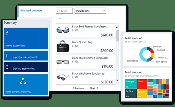 zarządzanie produktami w Dynamics 365 for Retail