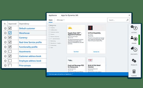 dostosowywanie aplikacji Dynamics 365 for Retail