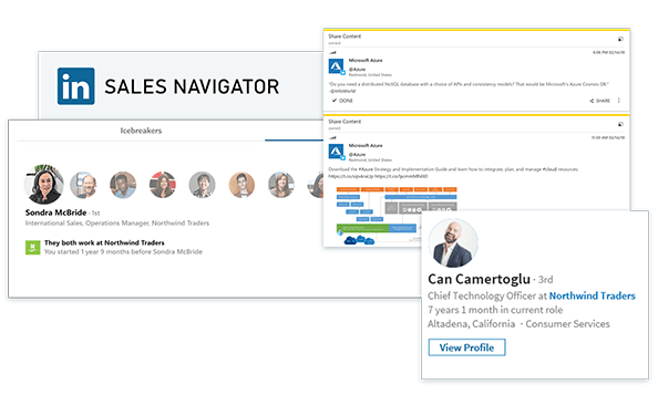 LinkedIn Sales Navigator zintegrowany z Dynamics 365 for Sales