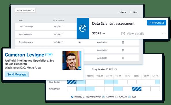 profil kandydata w Dynamics 365 for Talent