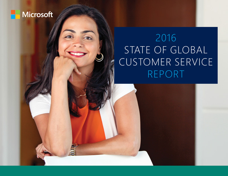 The 2016 global state of customer service report