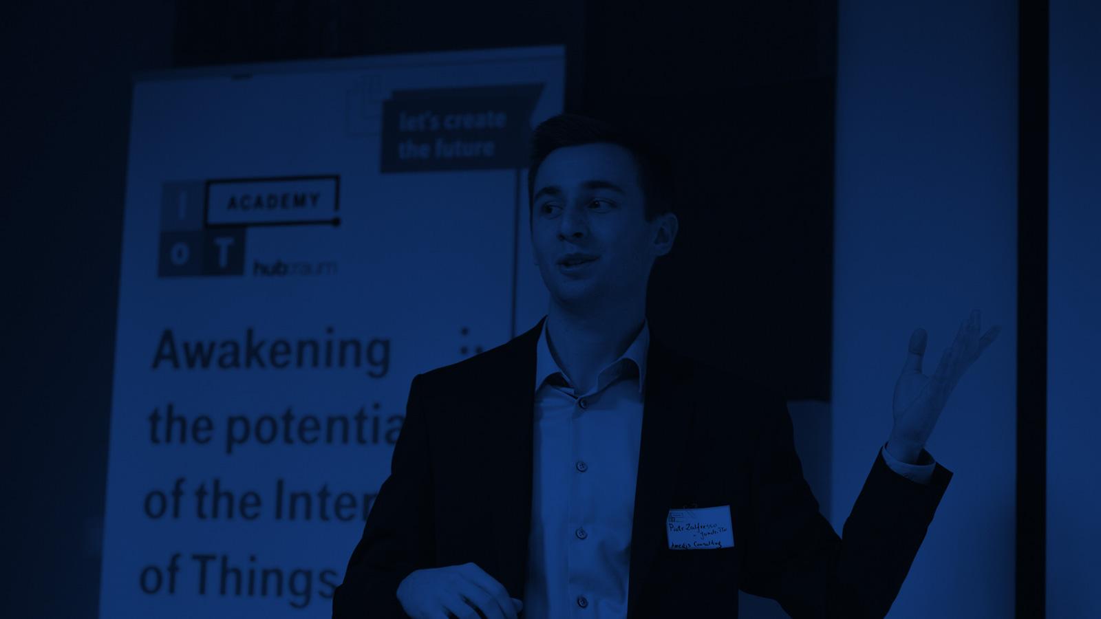 ANEGIS present IoT sensors at Deutsche Telekom hub:raum IoT Academy