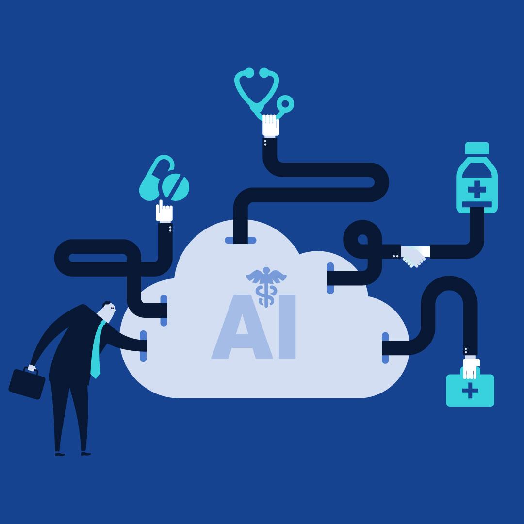 Wykorzystanie narzędzi sztucznej inteligencji do usprawnienia procesów w branży usług medycznych i farmaceutycznych